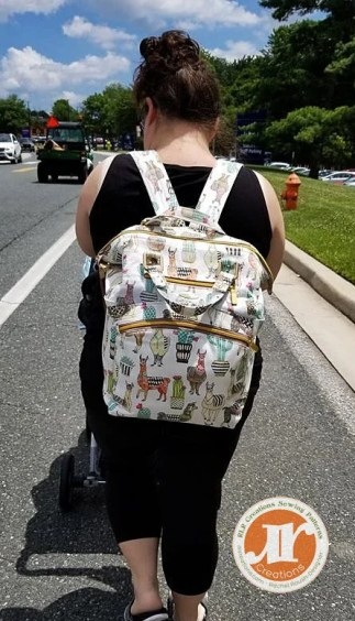 Teddy Mommy & Me Diaper Backpack - Daily Backpack - RLR Creations
