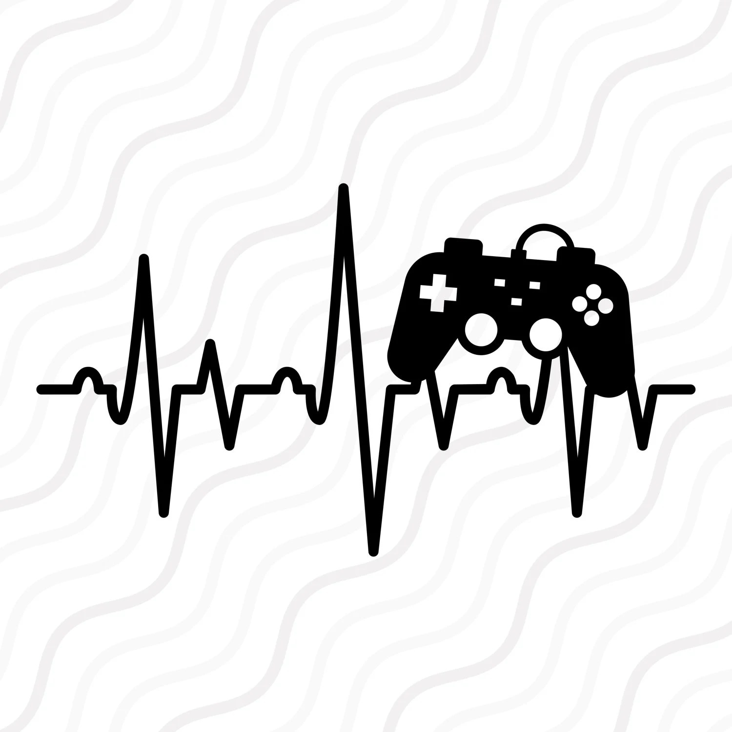 Game Control Heartbeat Svg Video Game Svg Heartbeat Svg