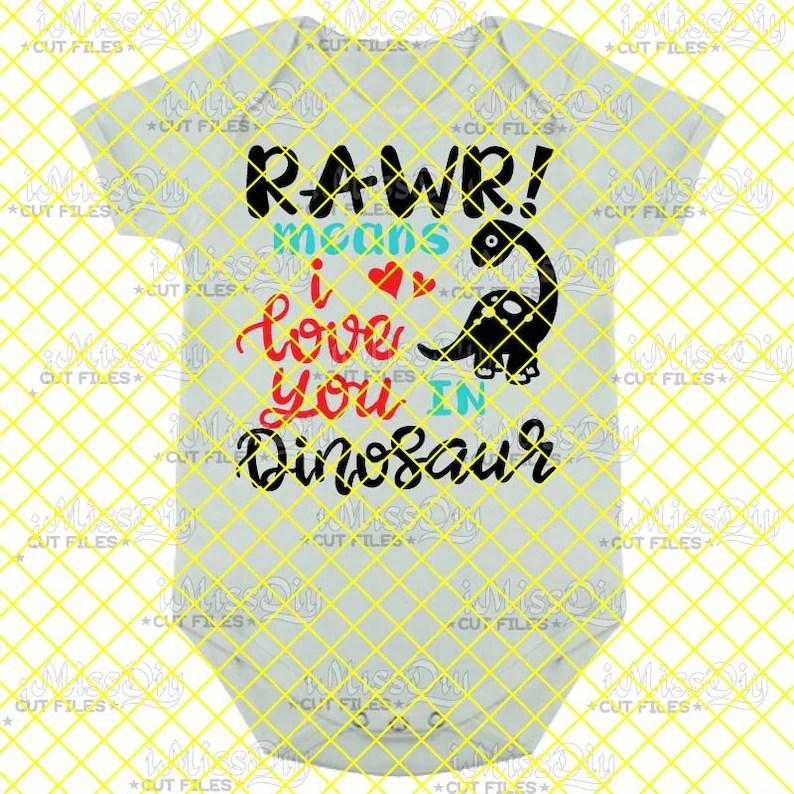 Download Dinosaur svg Roar svg Rawr Means I Love You In Dinosaur ...