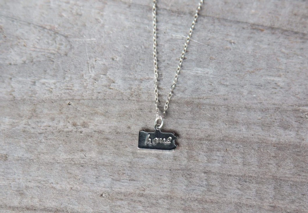 Silver Hand-Stamped &quot...