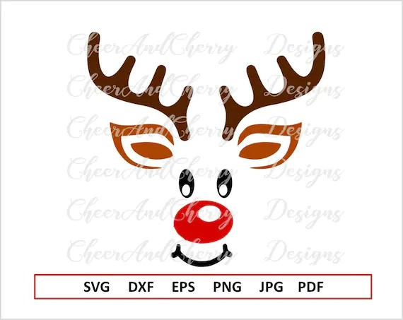Download Reindeer Svg for Cricut Christmas SVG file for Silhouette ...