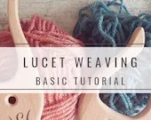 Lucet weaving tutorial, how to create strings with the Viking weaving fork, medieval historical re-enactment, immediate download