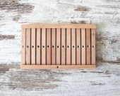 heddle board LARGE for weaving, hand weaving instruments, small size for bordures, medieval reenactment, christmas gift idea for crafters