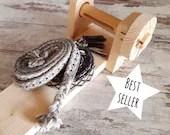 Tablet weaving loom handmande, make your own belt and strings, medieval knitting, christmas original gift idea for crafters or reenactors