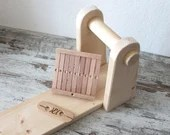 heddle board weaving set with loom, heddle and shuttle, creative woman gift valentines day idea, tools for medieval historical reenactment