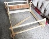 rigid heddle loom complete set, table loom to assembly, medieval weaving loom, middle age reenactment and living history