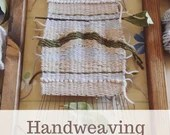 handweaving with frame loom pdf course, learns the basics of weaving and creates splendid tapestries, basic course creative weaving