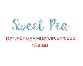 sweet pea font # 11