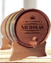 Personalized Whiskey Barrel Groomsmen Gift Father Of The Etsy