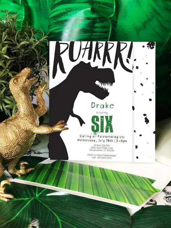 prehistoric dinosaur birthday
