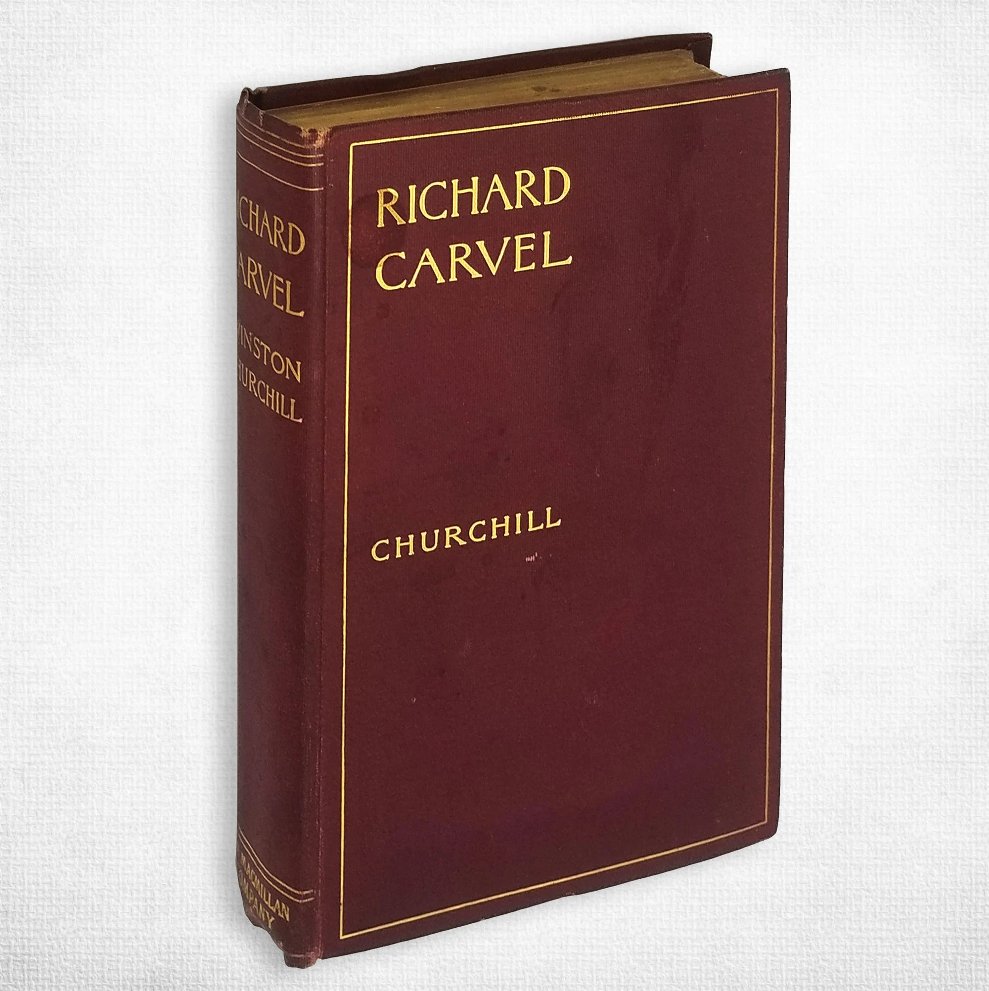 Antique Fiction Richard Carvel By Winston Churchill 2nd