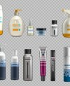 Eps 10 Digital Vector Realistic Bottles Set Collection Mockup Etsy