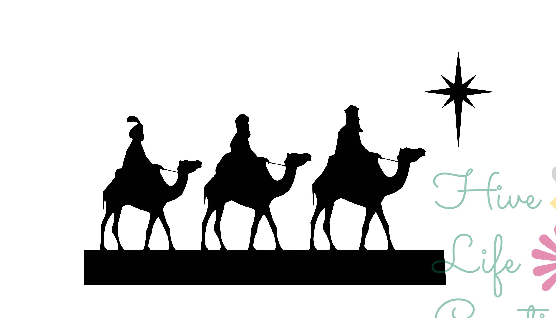 Three Kings Instant Download Christmas Three Kings Svg
