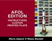 Micro Saturn V - AFOL Edition   Instructions for Brick Building