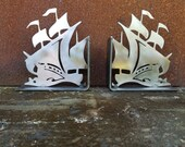 Pirate Ship Bookends Pati...