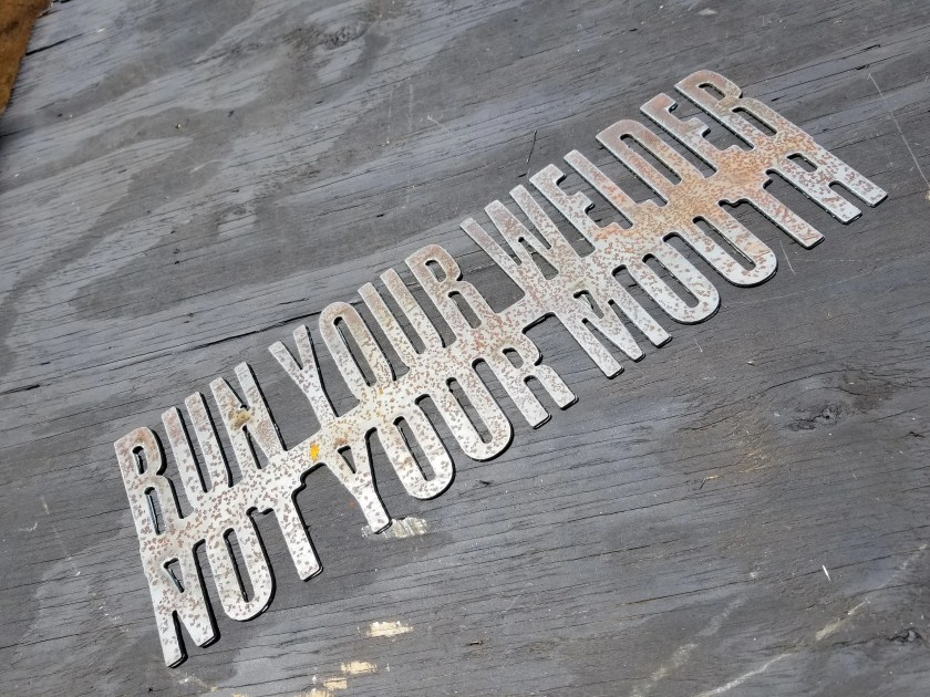 Run Your Welder Not Your ...