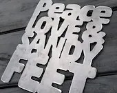 Peace Love Sandy Feet Bea...
