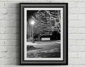 Black & White Bench Photo, Fine Art Photography, Street Photography, Digital Download, Bench, Printable Wall Art, Home Decor