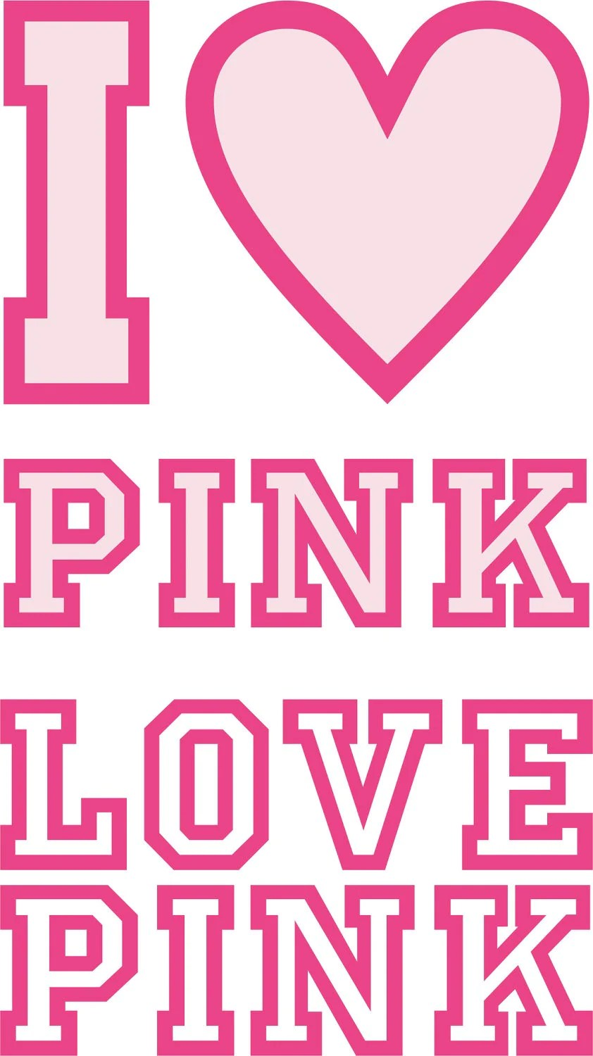 Download Love Pink SVG Cutting file Cricut Laser engrave Cutting | Etsy