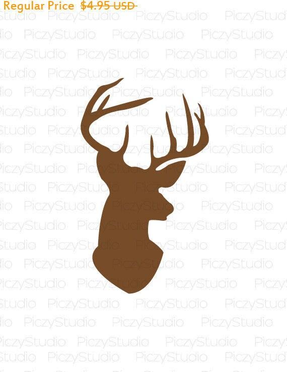 Download 80% OFF Sale Deer head svg Deer SVG Svg Files Silhouette ...