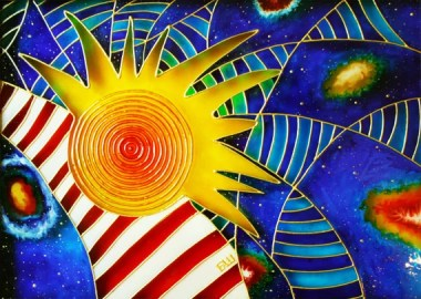Image result for unwrapping the sun painting