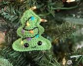 Miniature Tree Ornament Crochet Pattern
