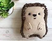 Chubby Hedgehog Amigurumi Crochet Pattern