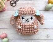 Lamb Amigurumi Crochet Pattern