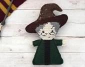 Professor Minerva McGonagall Crochet Pattern