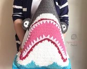 Shark Pillow Crochet Patt...