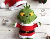 The Grinch Crochet Patter...