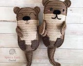 Amigurumi Otter Family Cr...