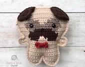 Pocket Pug Crochet Pattern