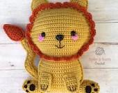 Ragdoll Lion Crochet Pattern