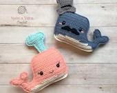 Whale Amigurumi Crochet Pattern