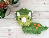 Triceratops Crochet Pattern