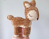 Fawn Amigurumi Crochet Pattern