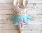 Ragdoll Spring Bunny Crochet Pattern