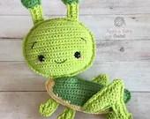 Grasshopper Amigurumi Crochet Pattern