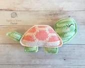 Tilly the Tortoise Crochet Pattern