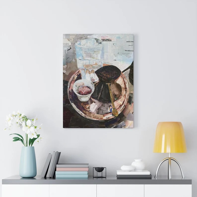 Bosanska Kafa Kahva Bosnian Coffee Quality Canvas Wall Art image 1