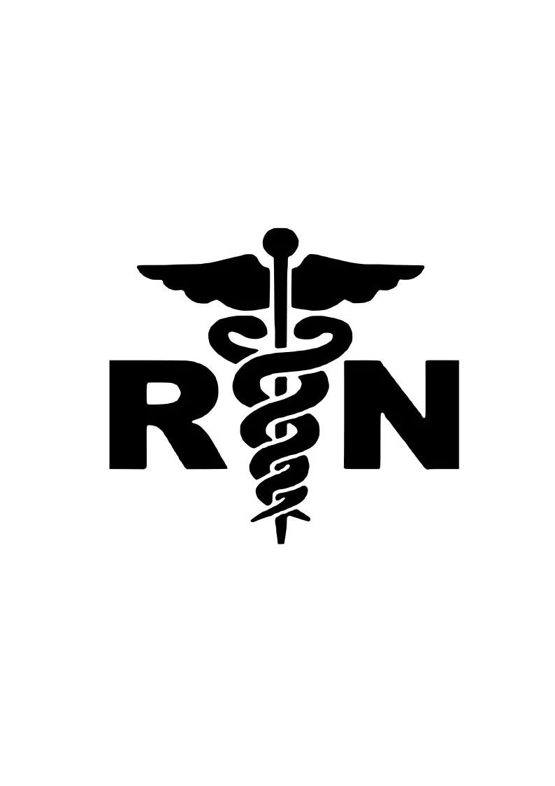 Download Registered Nurse RN svg outline laptop cup decal SVG ...