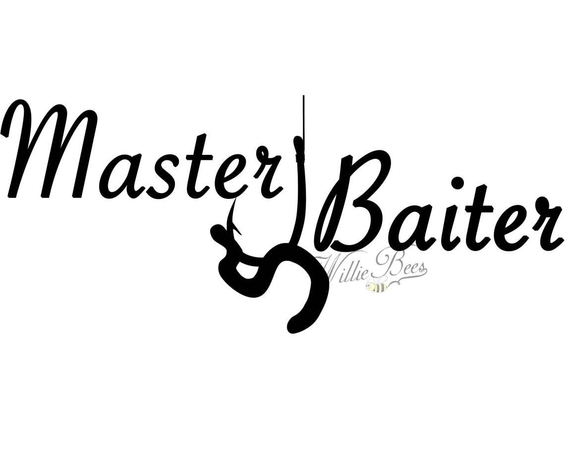 Download Fishing SVG Master Baiter Fishing Quote Love Fishing T | Etsy