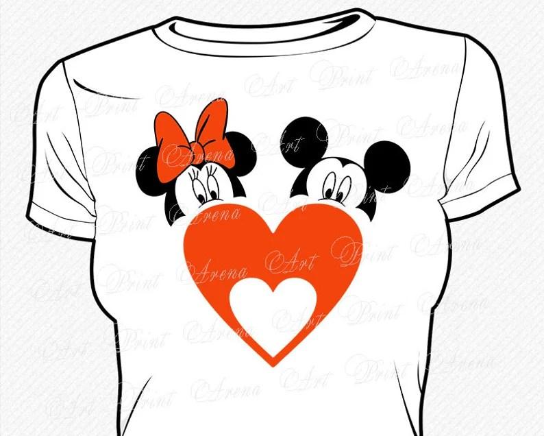 Download Mickey Minnie Love SVG Mickey Head SVG Minnie Head svg ...