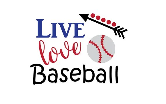 Download Live Love Baseball SVG Baseball svg Baseball cut file | Etsy