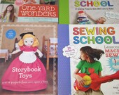 4 Sewing Books - Storyboo...