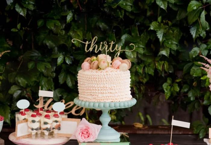 30 Cake Topper 30th Birthday Cake Topper For Her 30th Etsy