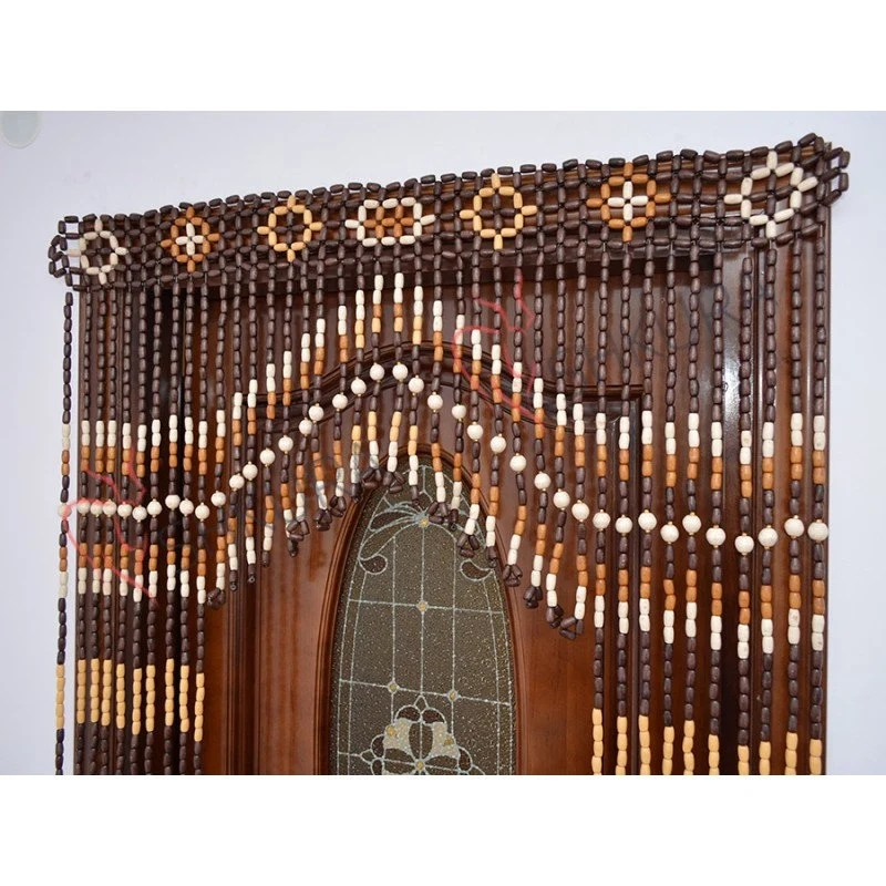 beaded door curtain decor for living room wood blinds wall decor door curtain beads curtains wooden bead handmade unique gift mother wife
