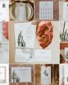 Eleanor Cactus Wedding Invitation Template Bundle Desert Etsy