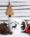 Christmas Styled Stock Mug Mock Up Christmas Mockup Blank Etsy